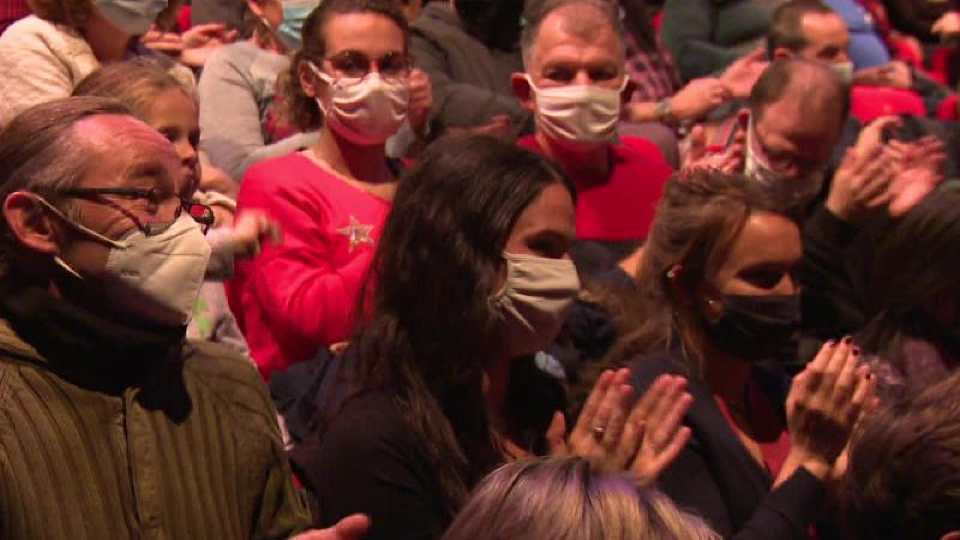 Le concert mystère du Trianon a séduit une centaine de personnes à Sotteville-les-Rouen (France 3)